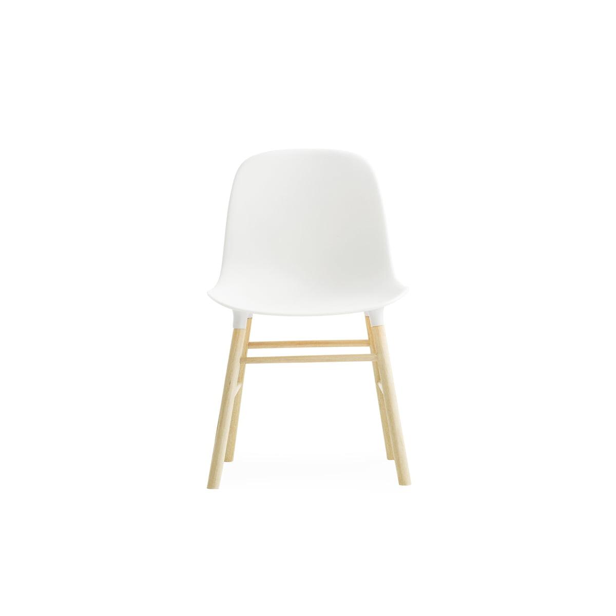 Form Chair Miniature By Normann Copenhagen Made Of Oak In White