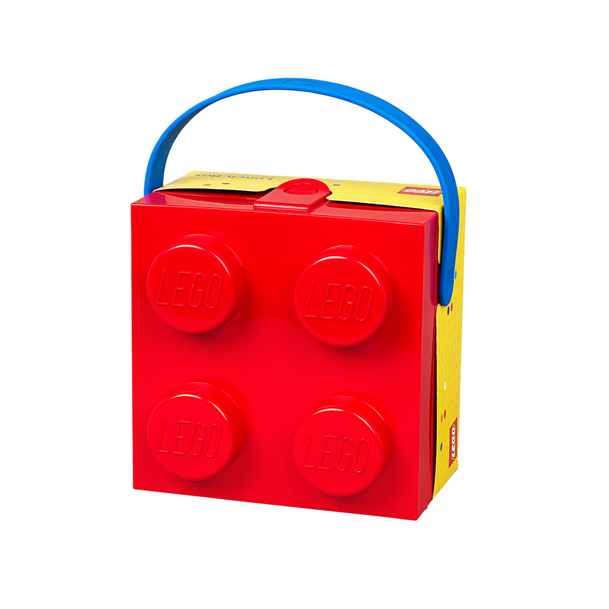 Lunch Box with handle by Lego in the shop