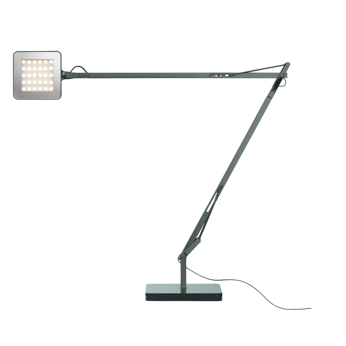 Kelvin led table lamp by flos in the shop flos kelvin led base table lamp green mode anthracite aloadofball