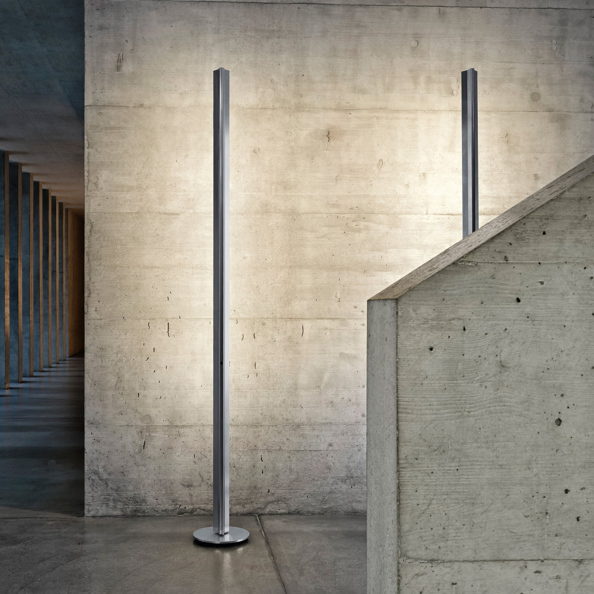 Ypsilon led floor lamp by belux in our designer shop for Pixo led floor lamp