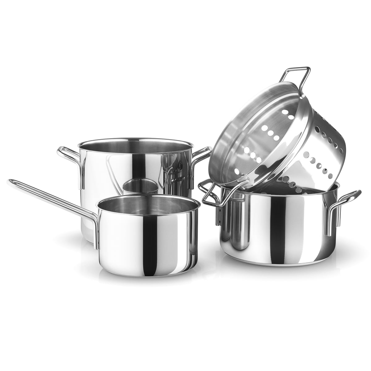 Stainless Steel Pot Set By Eva Trio