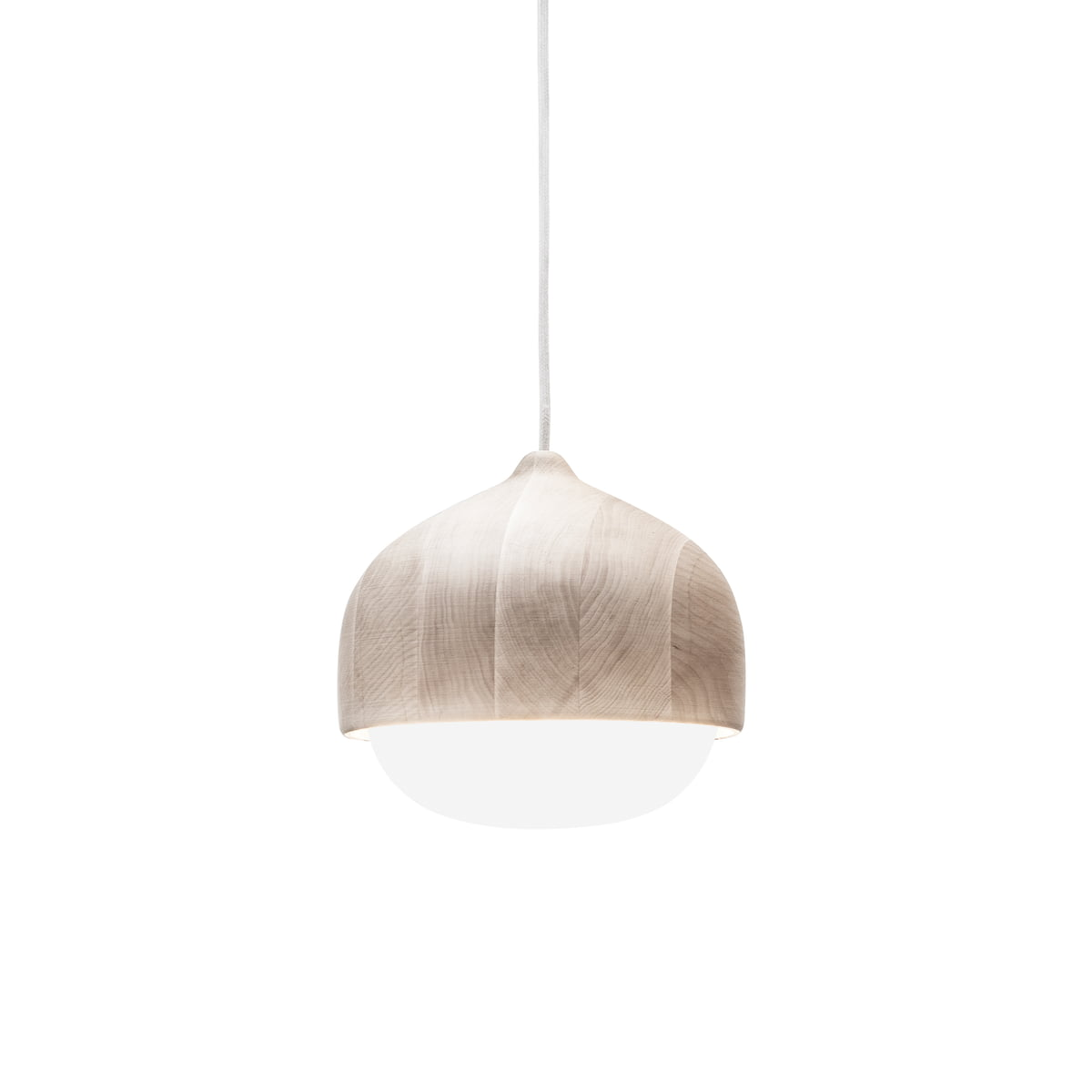 Terho pendant l& by Mater in medium size  sc 1 st  Connox & Terho wood pendant lamp by Mater in the shop azcodes.com