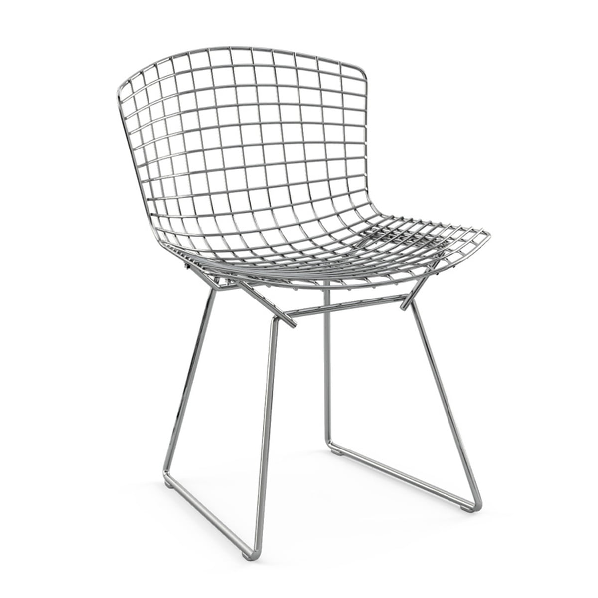 Knoll   Bertoia Chair Chrome Plated