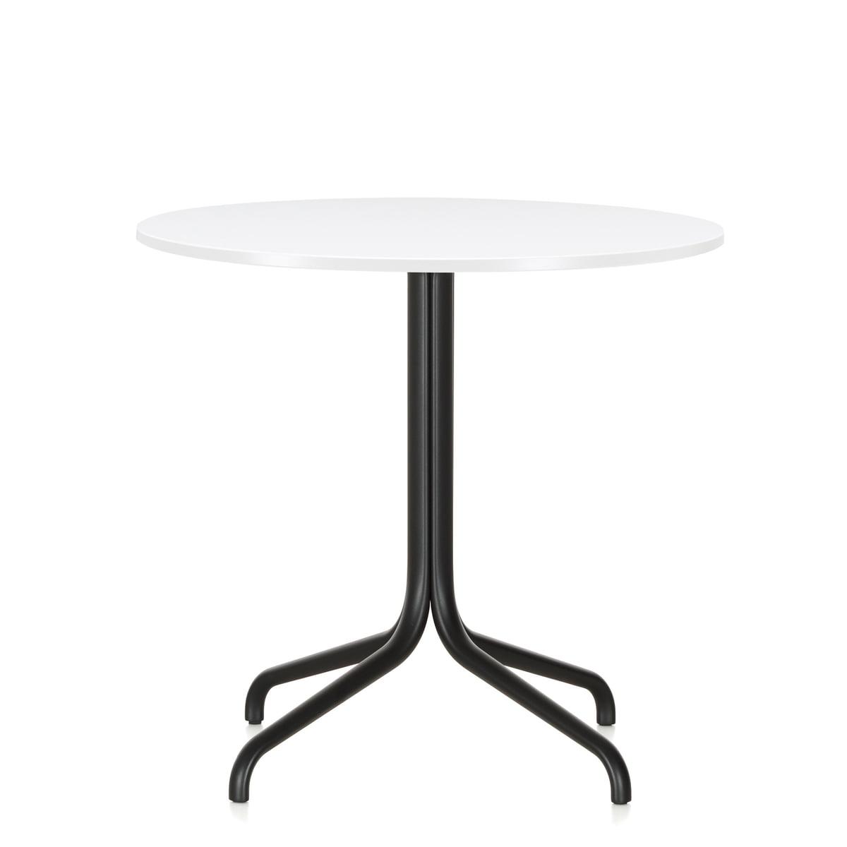 Belleville Bistro Table, Round, Ø 79.6 Cm By Vitra In White