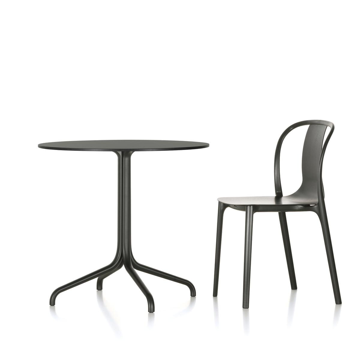 Belleville Bistro Table Indoor round by Vitra