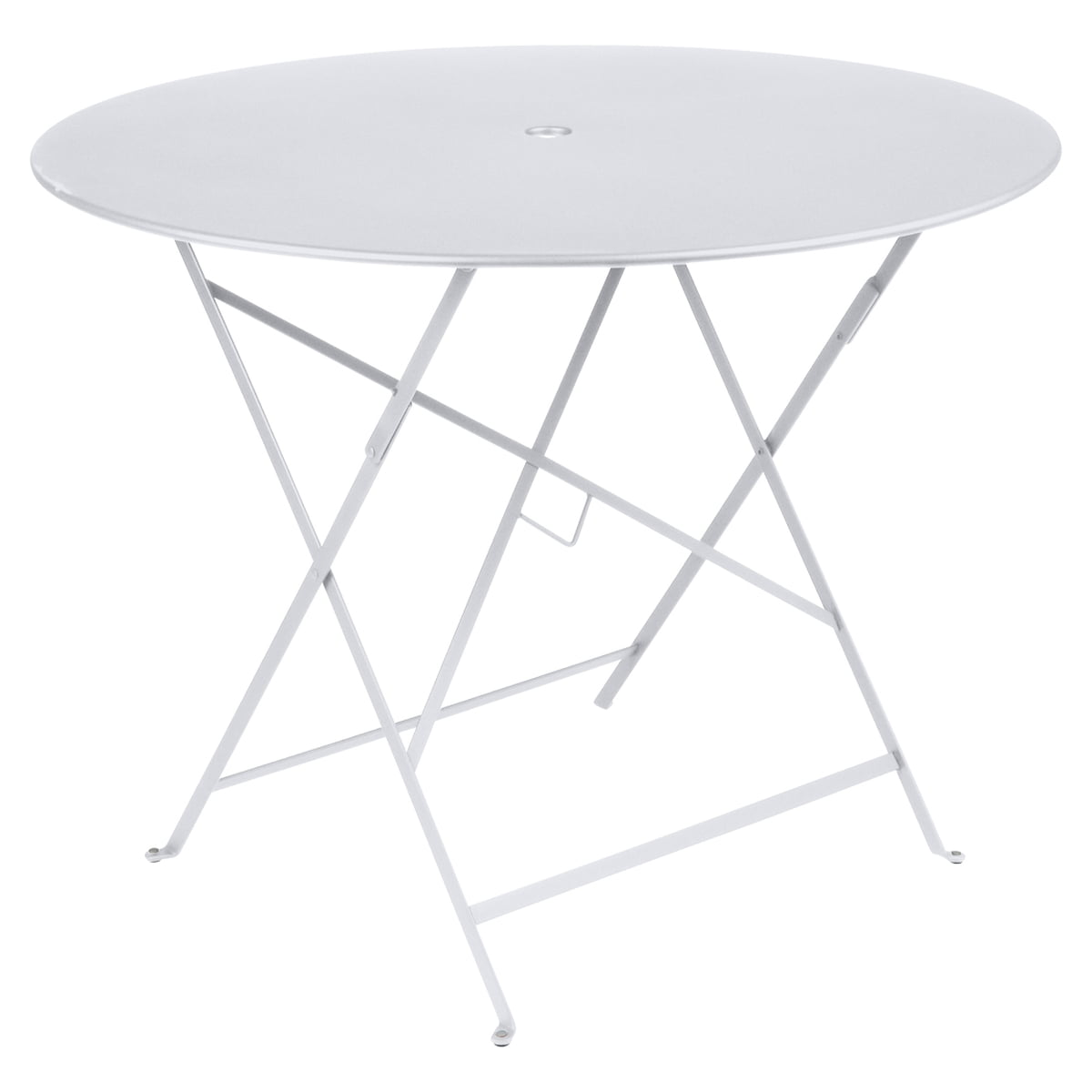 Bistro Folding Table Ø 96 Cm By Fermob In Cotton White