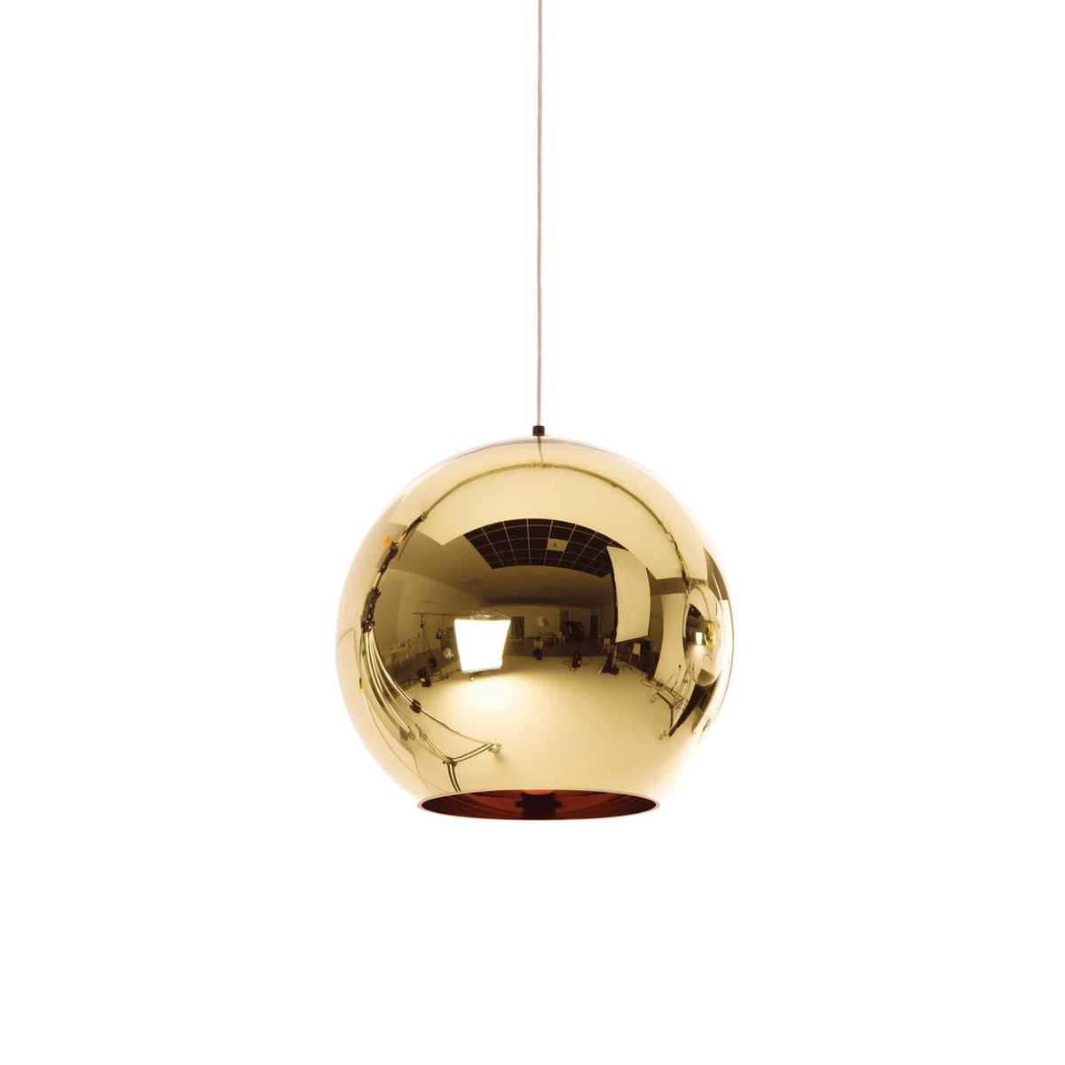 Bronze copper pendant lamp by tom dixon tom dixon bronze copper pendant lamp 25 cm bronzecopper arubaitofo Choice Image