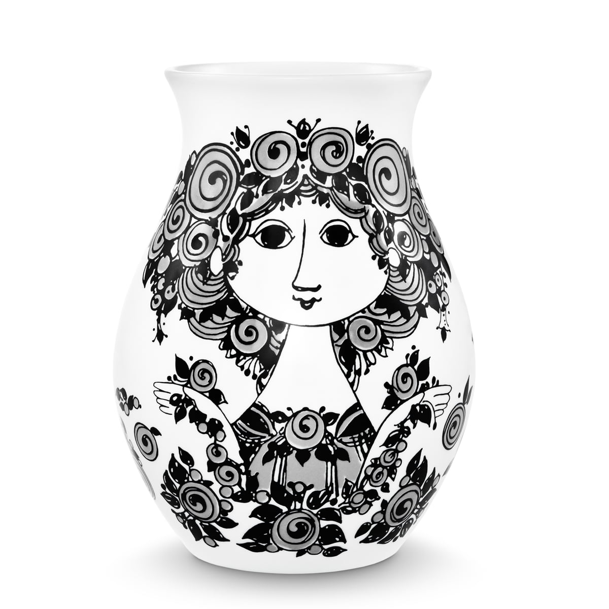 porcelain vase rosalinde by bj rn wiinblad in shop. Black Bedroom Furniture Sets. Home Design Ideas