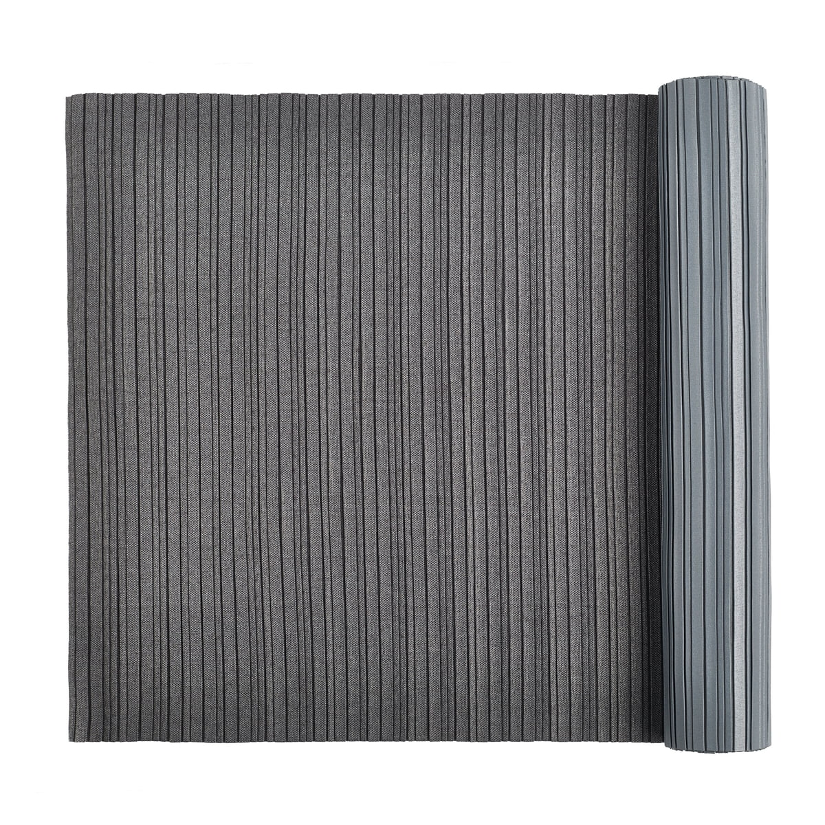 2f593d5f007 Iittala X Issey Miyake - table runner 2 m pleated, dark gray