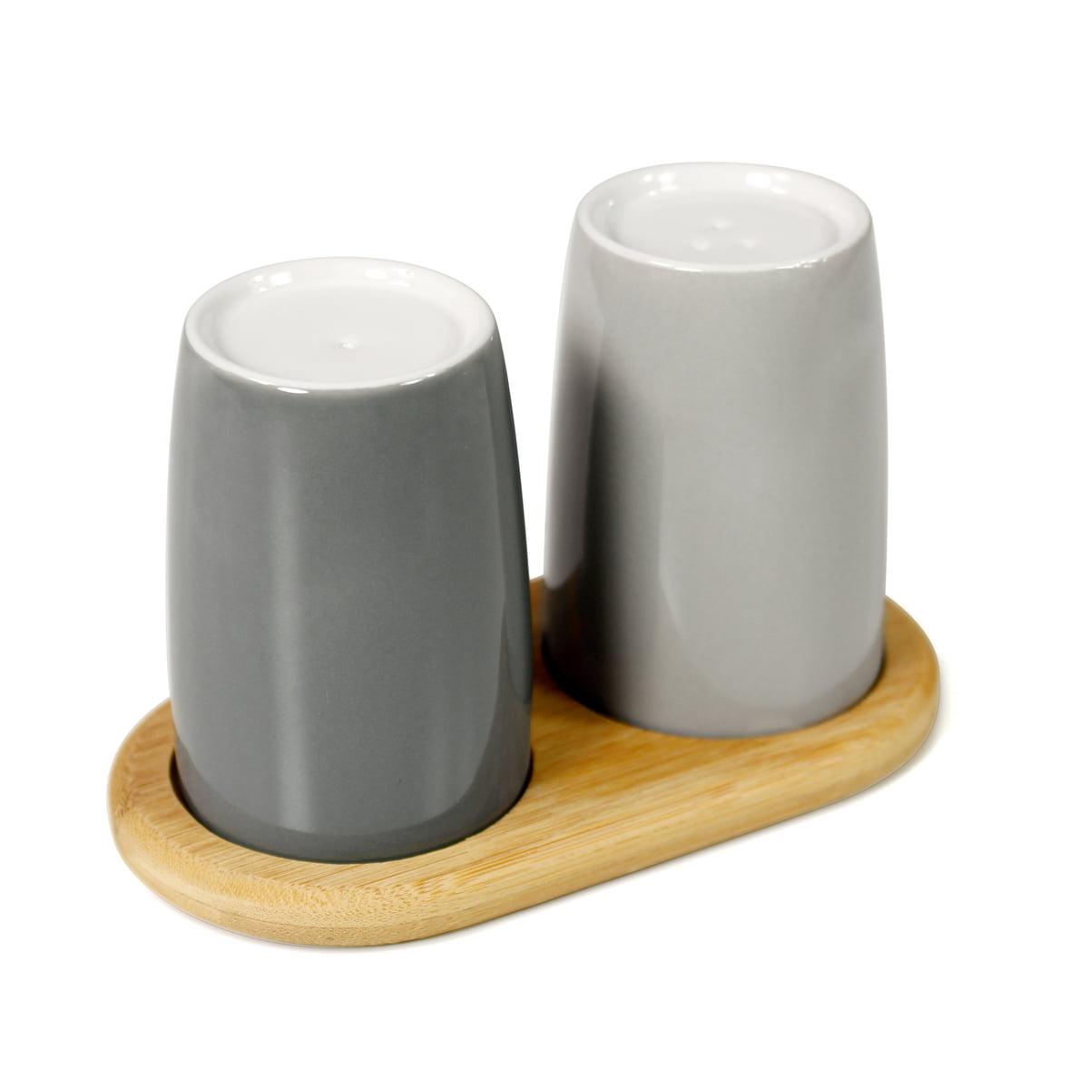 emma salt and pepper shakers by stelton. Black Bedroom Furniture Sets. Home Design Ideas