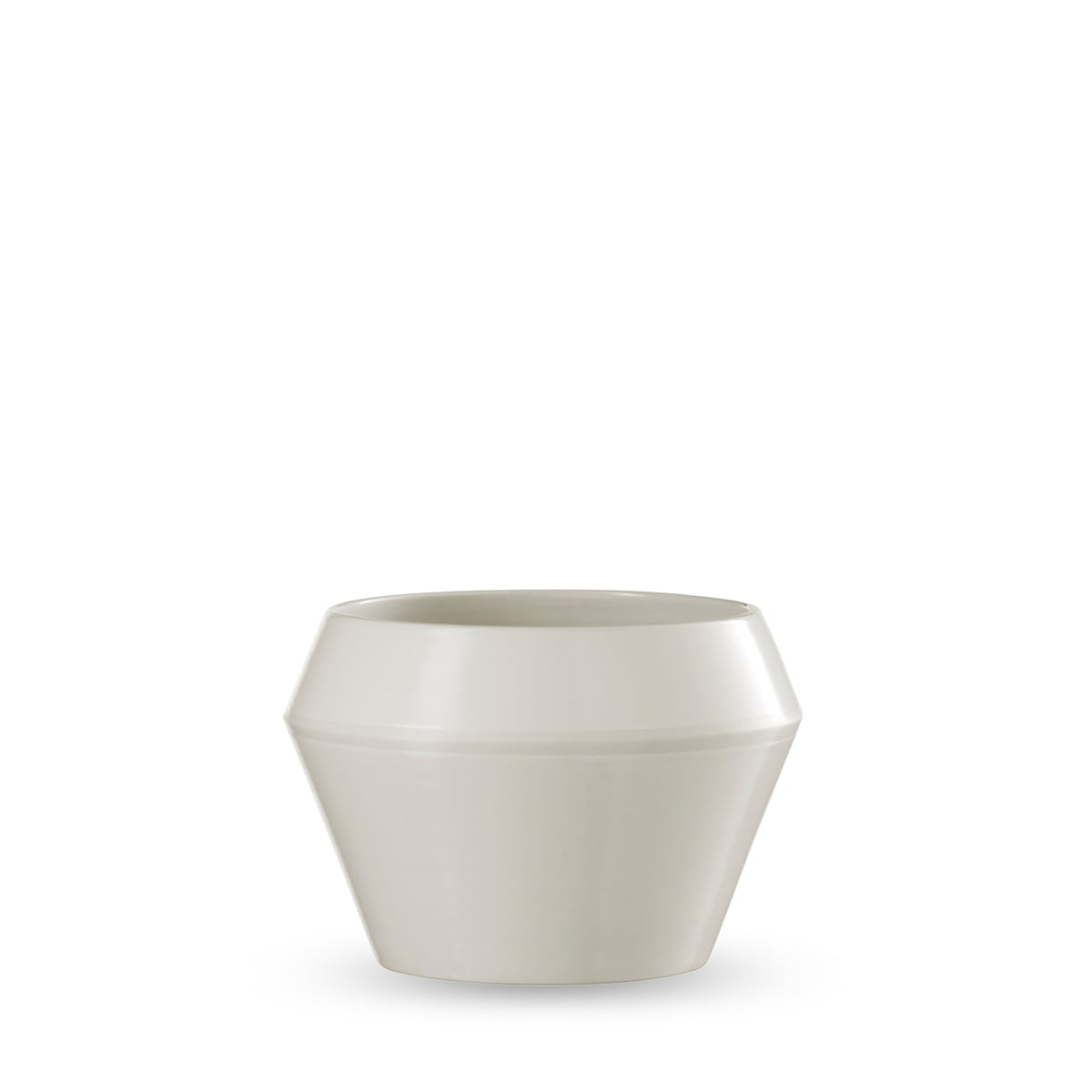 Rimm flower pot small by lassen by lassen rimm flower pot small white mightylinksfo