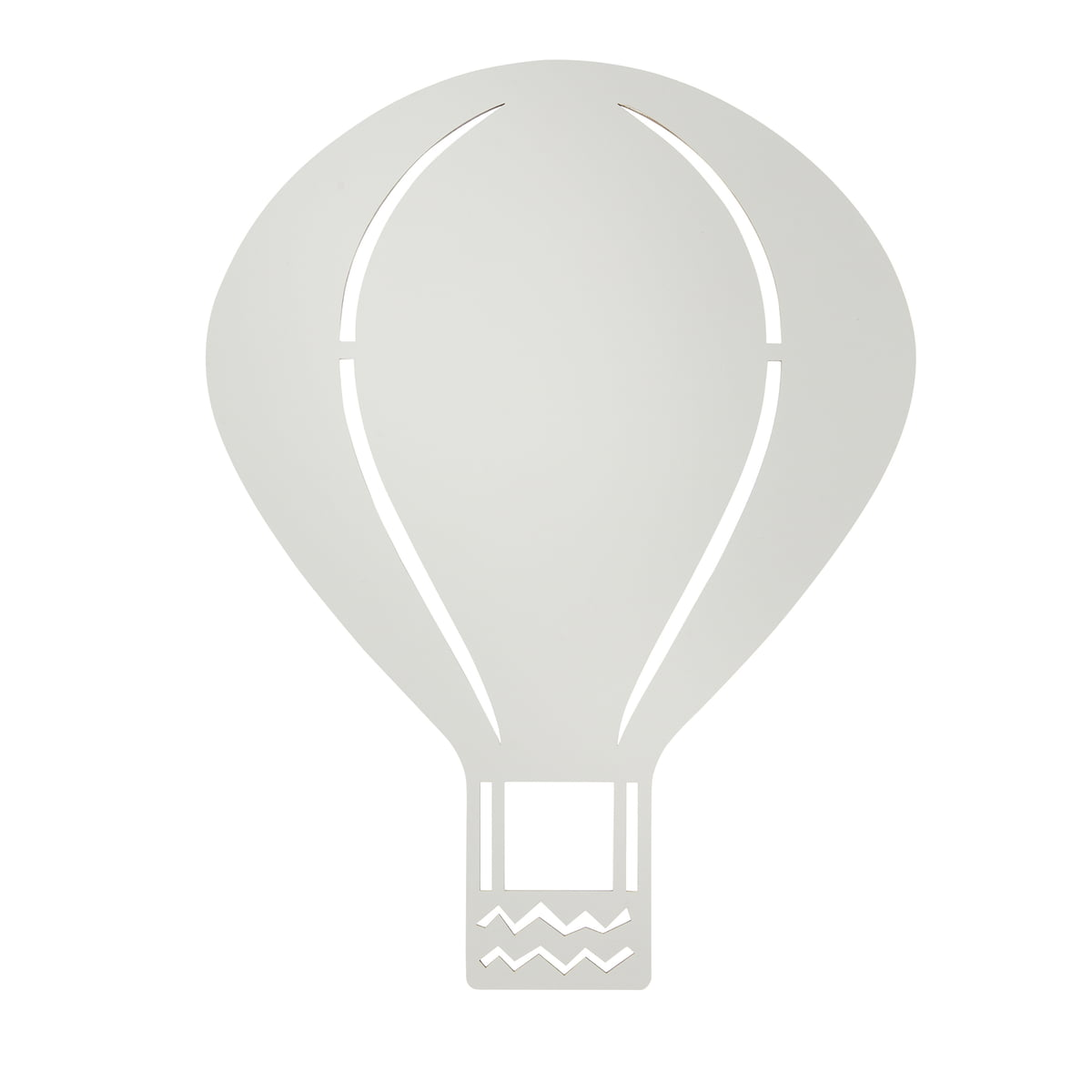 Hot Air Balloon Lamp By Ferm Living In Grey