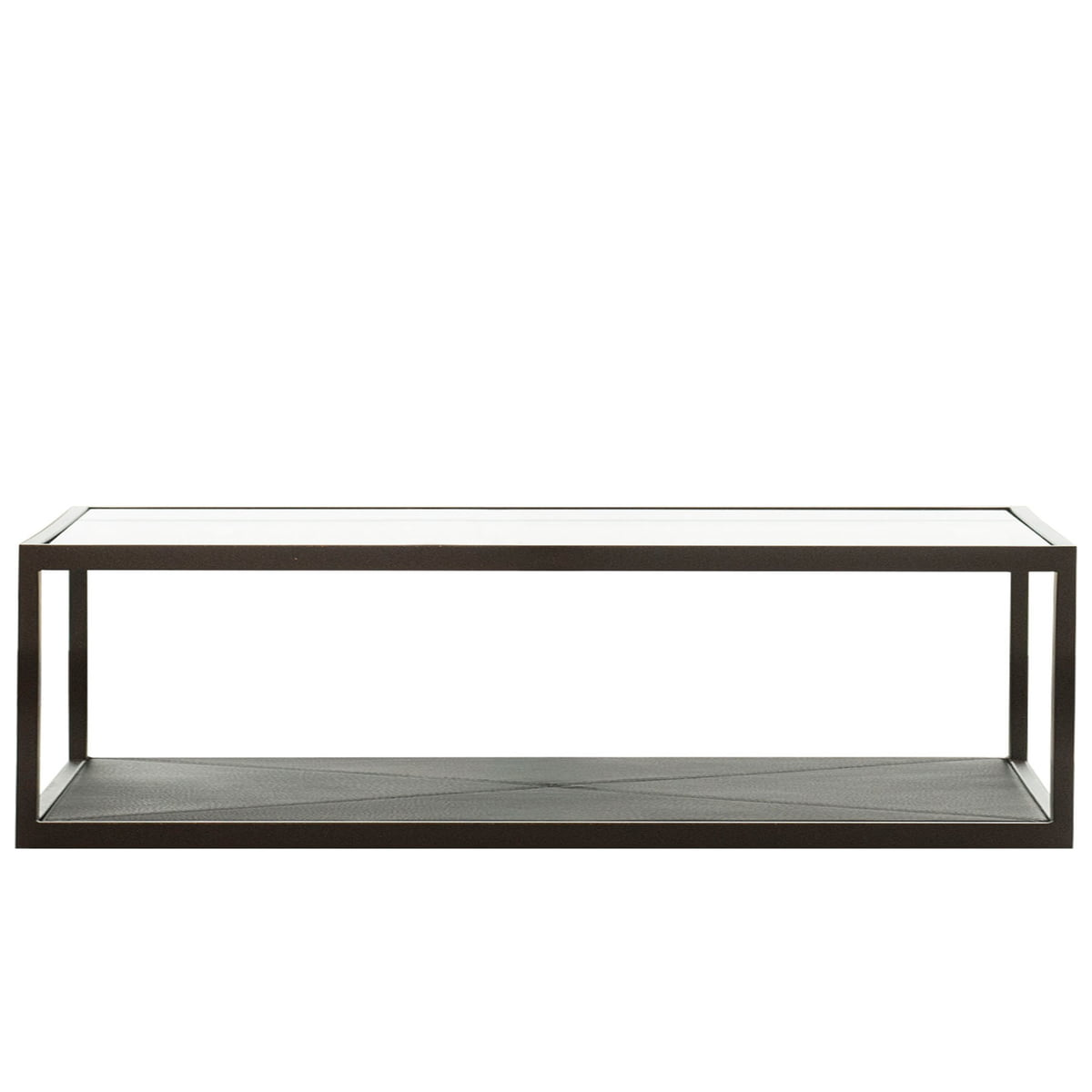 Monaco Coffee Table 100 X 50 Cm By Röshults In Black With Black Leather