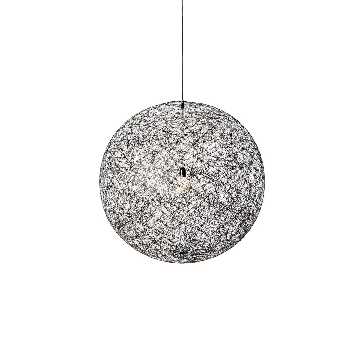random light suspension lamp by moooi. Black Bedroom Furniture Sets. Home Design Ideas