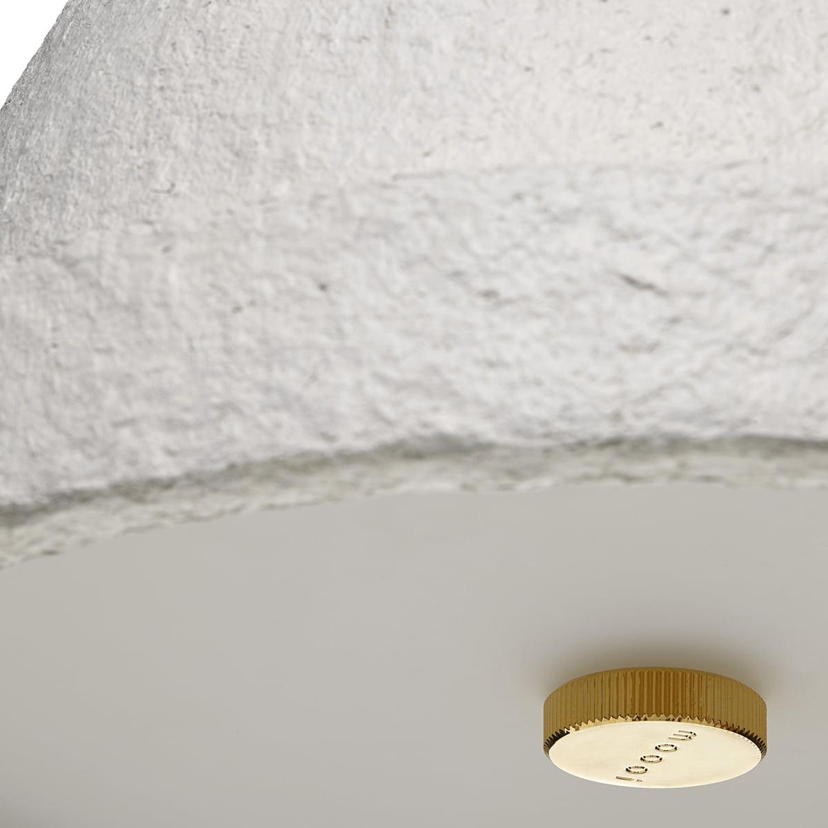 Lampe Suspension Papier Design moooi - salago suspension lamp, s, natural