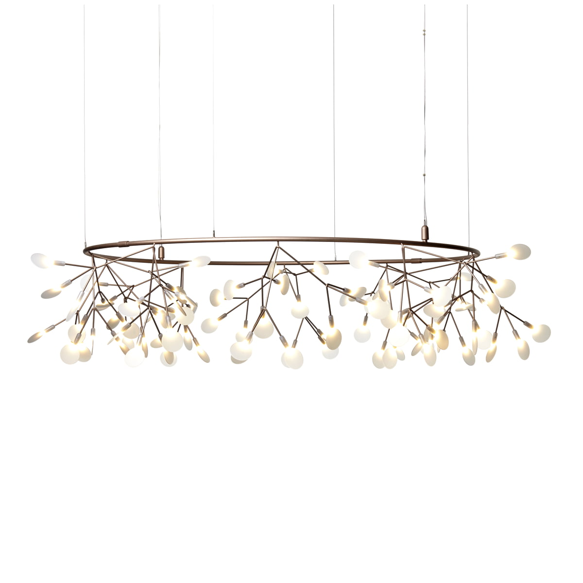 size 40 f7d19 be921 Moooi - Heracleum Small Big O Pendant Lamp, copper