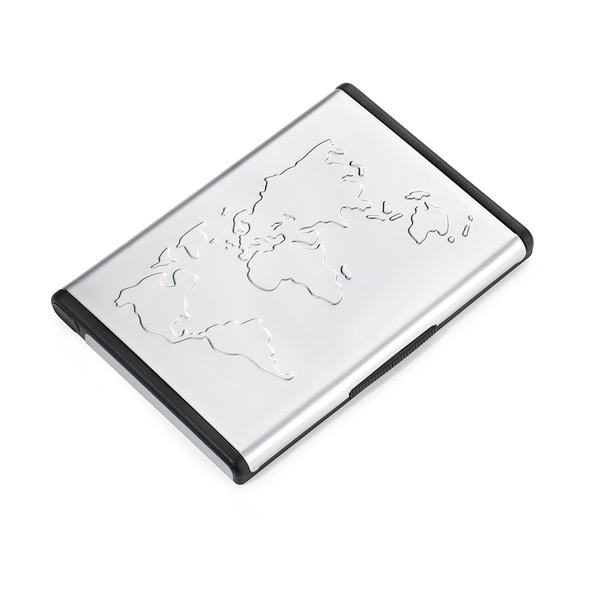 Troika Mr Slowhand Business Card Case World Aluminium