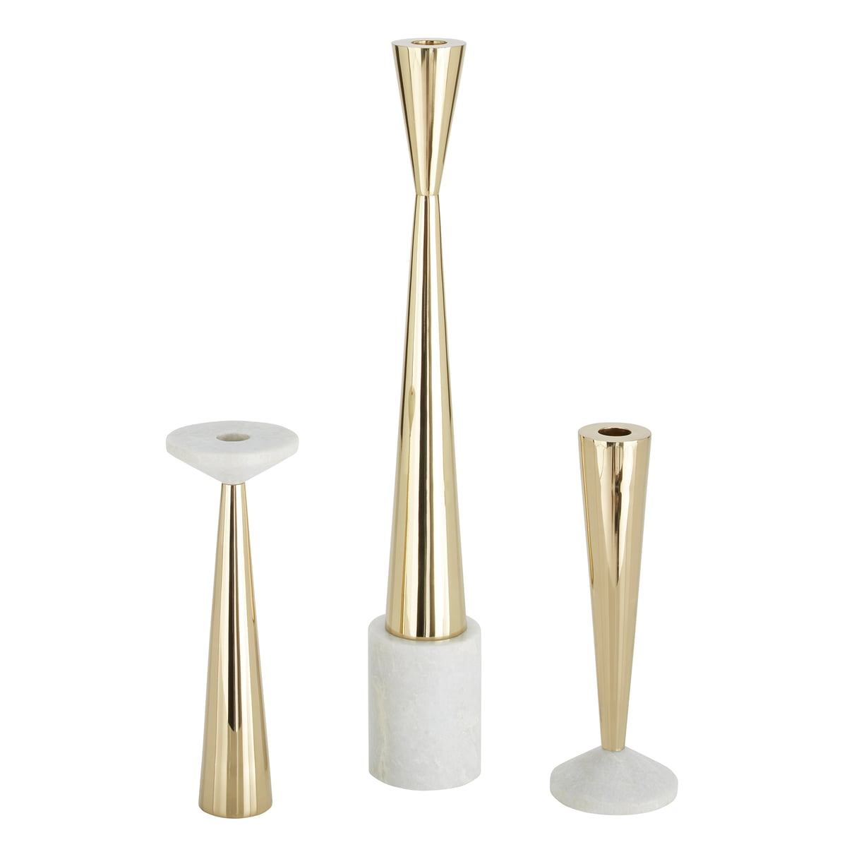 Stone candle holder by tom dixon in the shop for Used candle holders