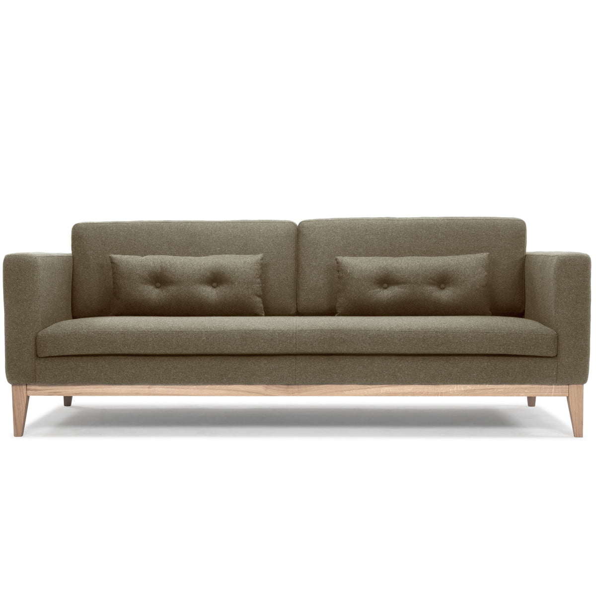 The Day Sofa By Design House Stockholm In Army Green