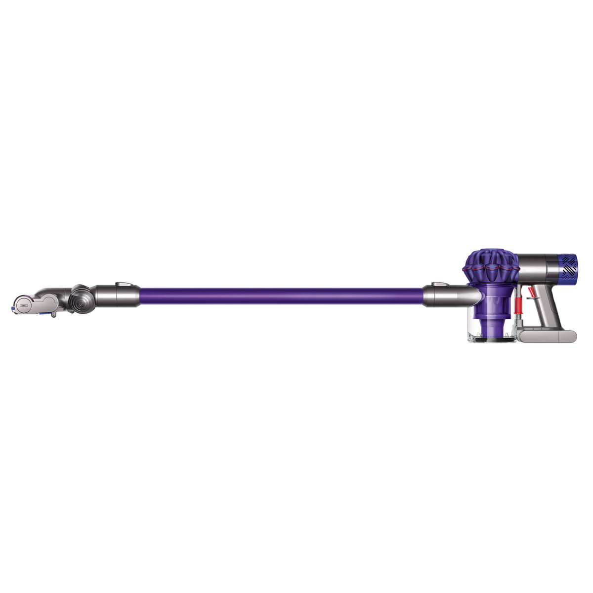 Image of: Handheld Vacuum Dyson Cordless Vacuum Cleaner V6 Animalpro Purple Purple Connox Cordless Vacuum Cleaner V6 Animalpro