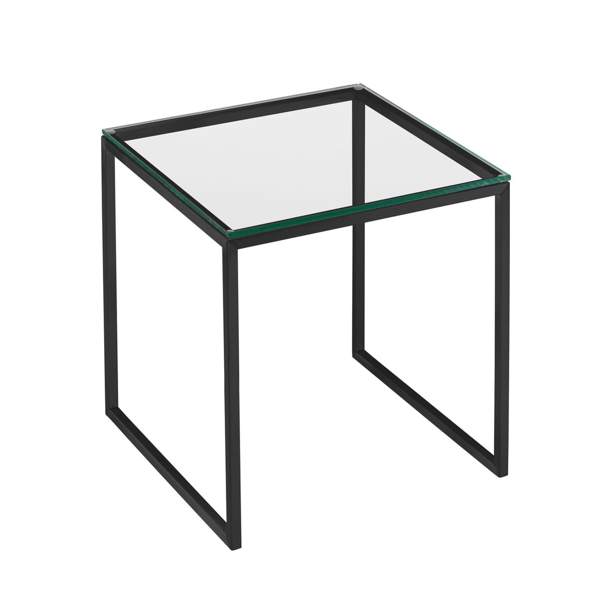 Hans Hansen Less H 22 2 Coffee Table With Sled Base Frame