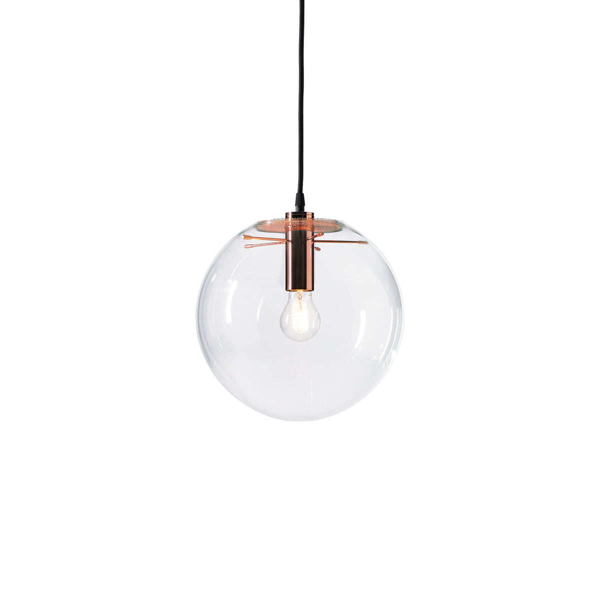 The selene pendant light copper by classicon classicon selene pendant light copper 25cm aloadofball Choice Image