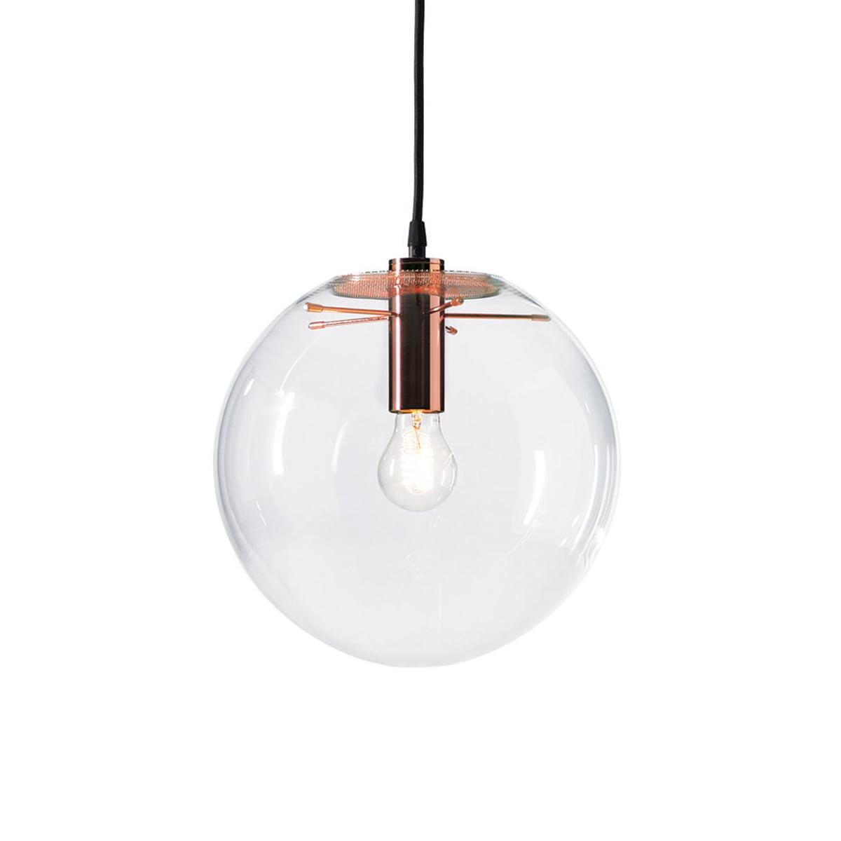 classicon selene pendant light copper 35cm