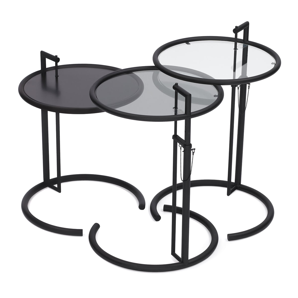 Buy The Adjustable Table E By ClassiCon - Eileen gray end table