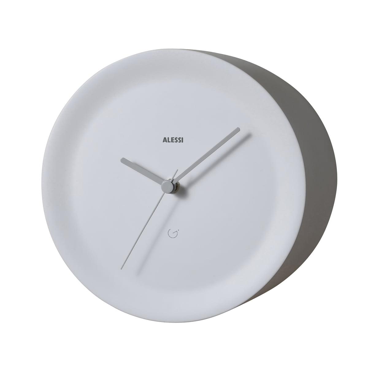 purchase the ora out edge clock by alessi in the shop. Black Bedroom Furniture Sets. Home Design Ideas