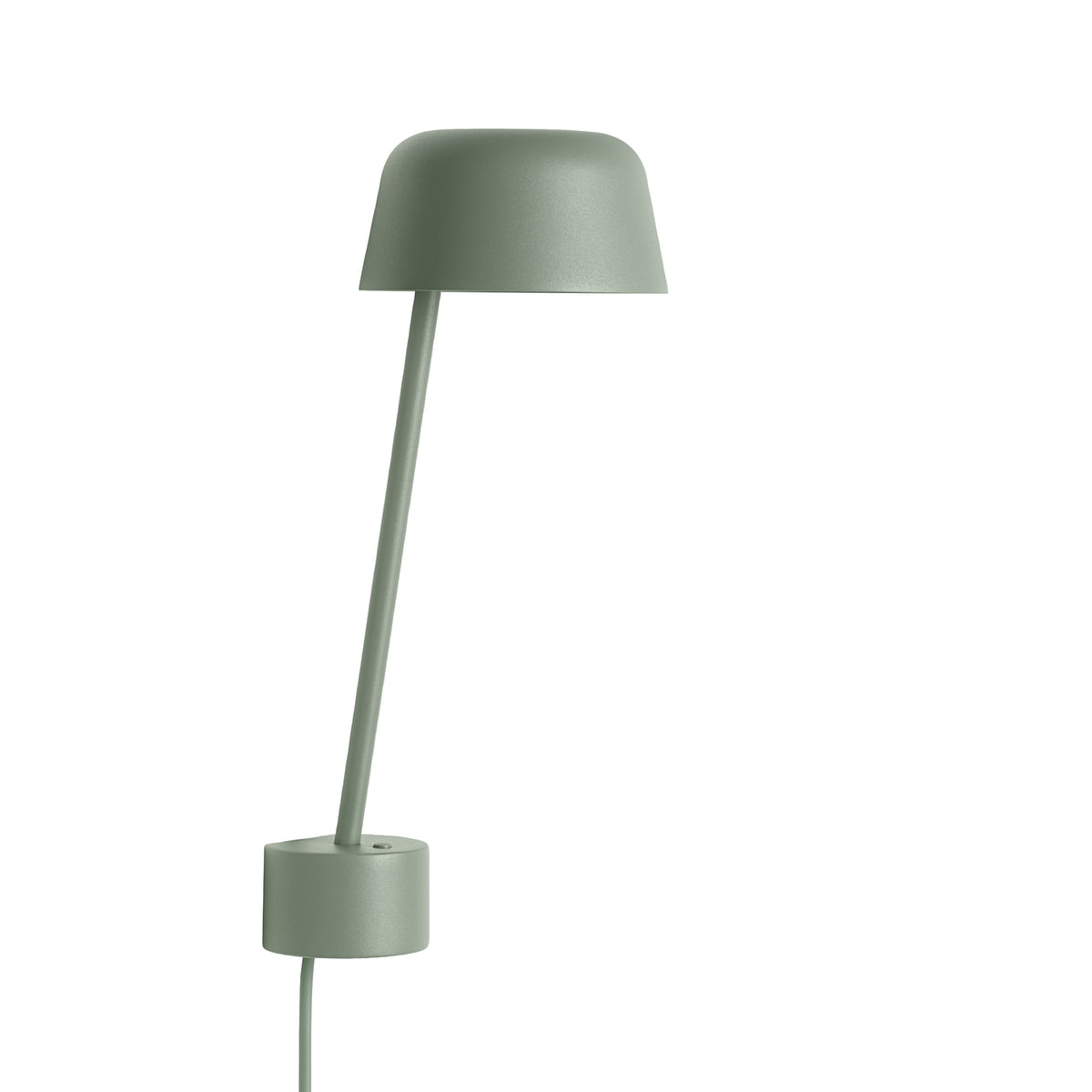 Lean wall lamp by muuto online the lean wall lamp led by muuto in dusty green parisarafo Choice Image
