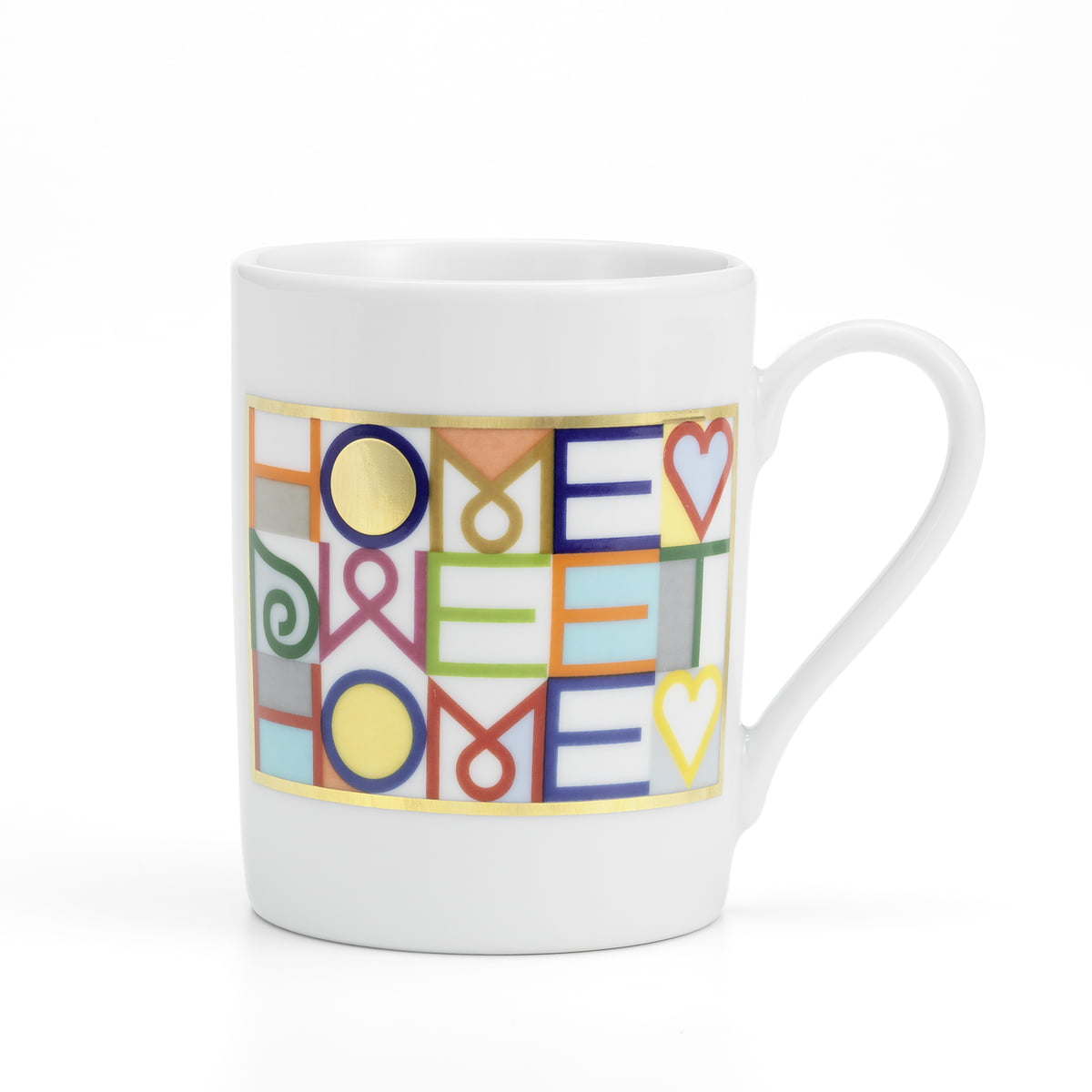 Home sweet home coffee mug by vitra for Best coffee mugs for home