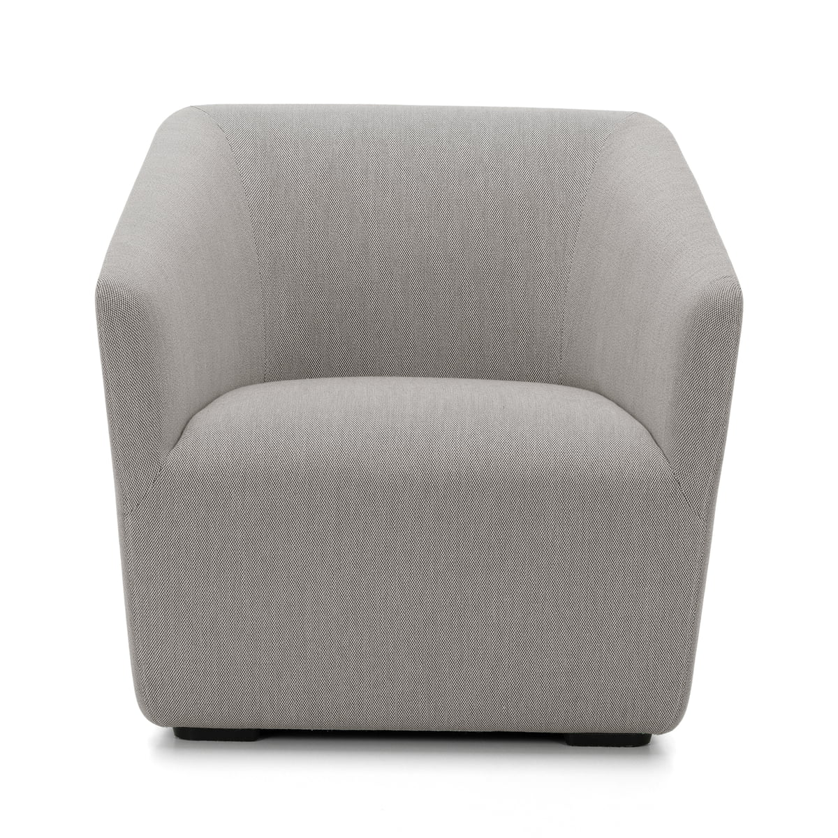 Occasional Lounge Chair From Vitra In Dark Grey (Stonegrey 13)