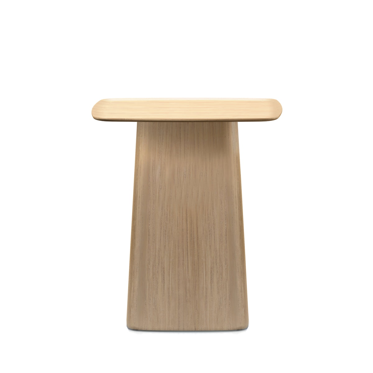Beau Small Wooden Side Table From Vitra In Light Oak
