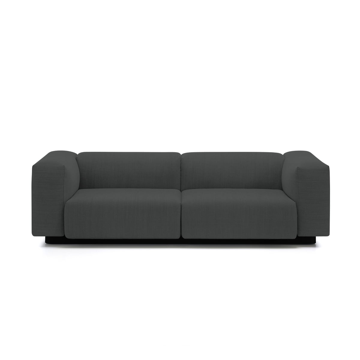 Soft modular 2 seater sofa from vitra in the connox shop for Sofa 2 sitzer