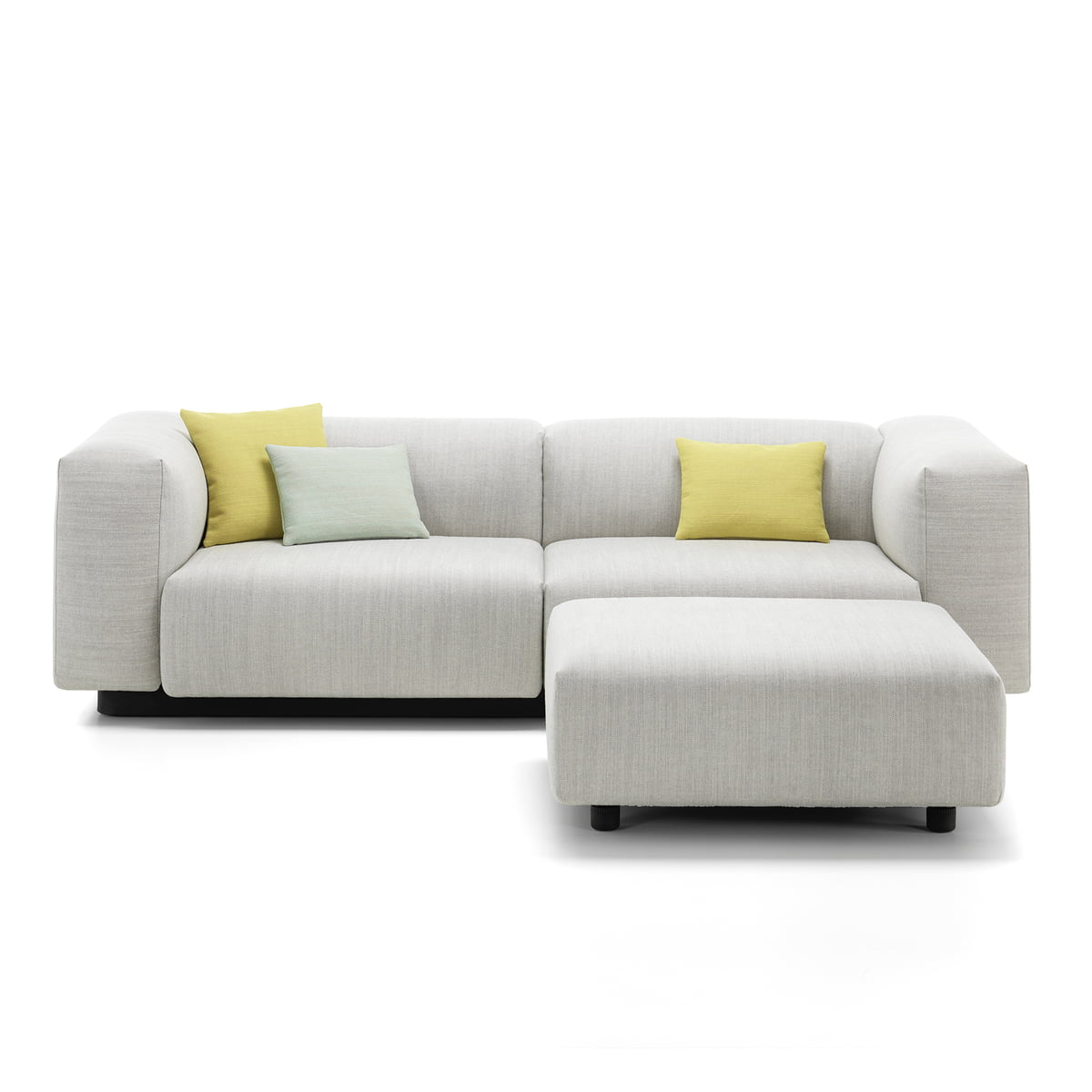 Soft Modular 2 Seater-Sofa from Vitra in the Connox Shop