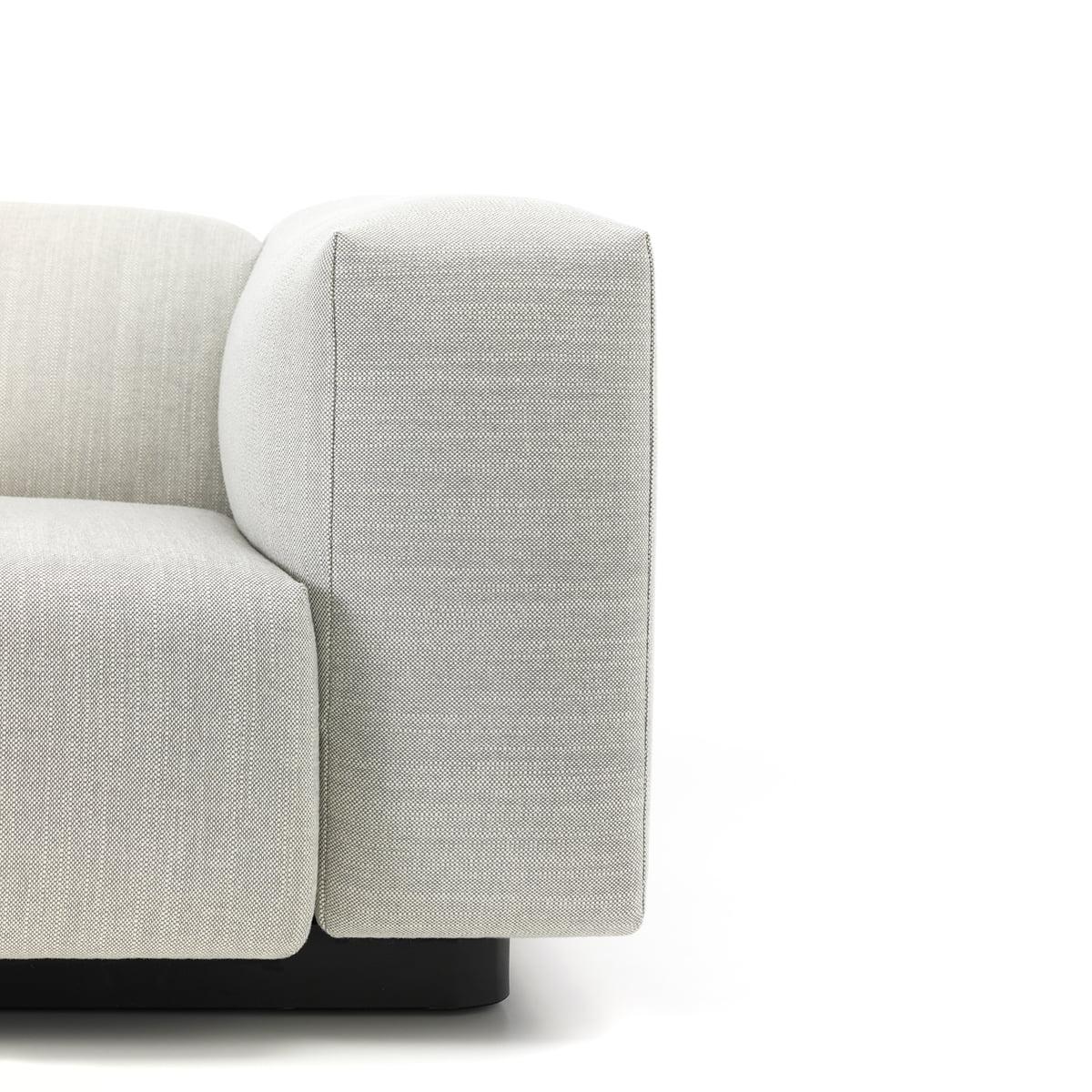 Soft Modular Sofa With Black Frame