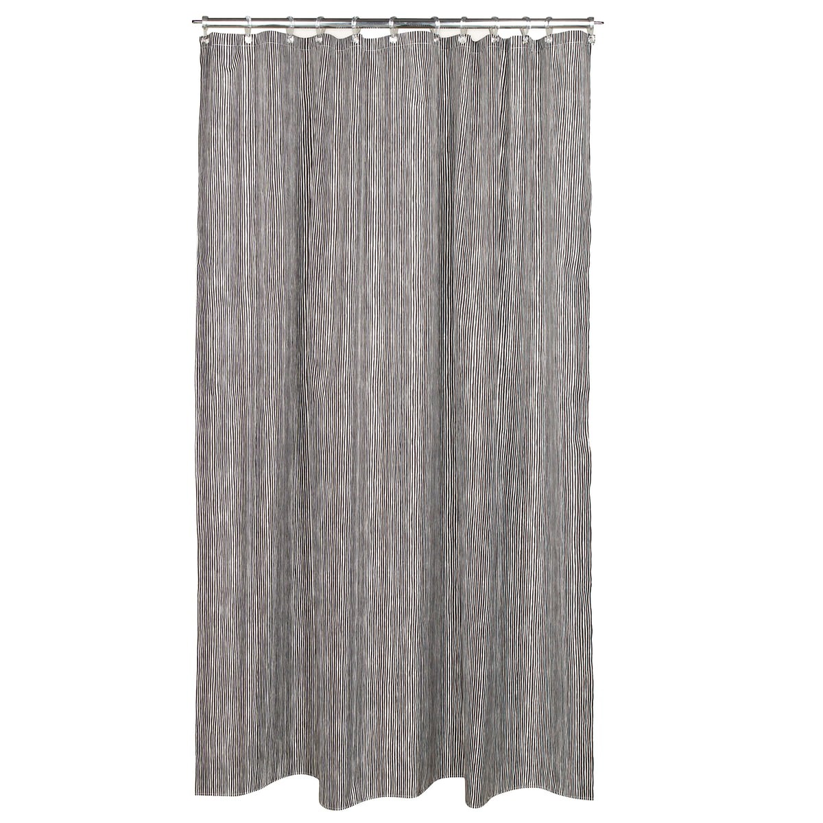 Varvunraita Shower Curtain By Marimekko In Black White