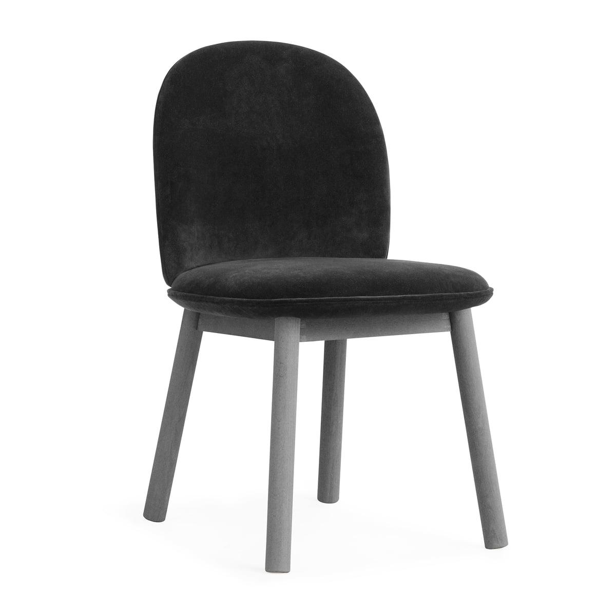 Normann Copenhagen   Ace Chair Velour, Grey