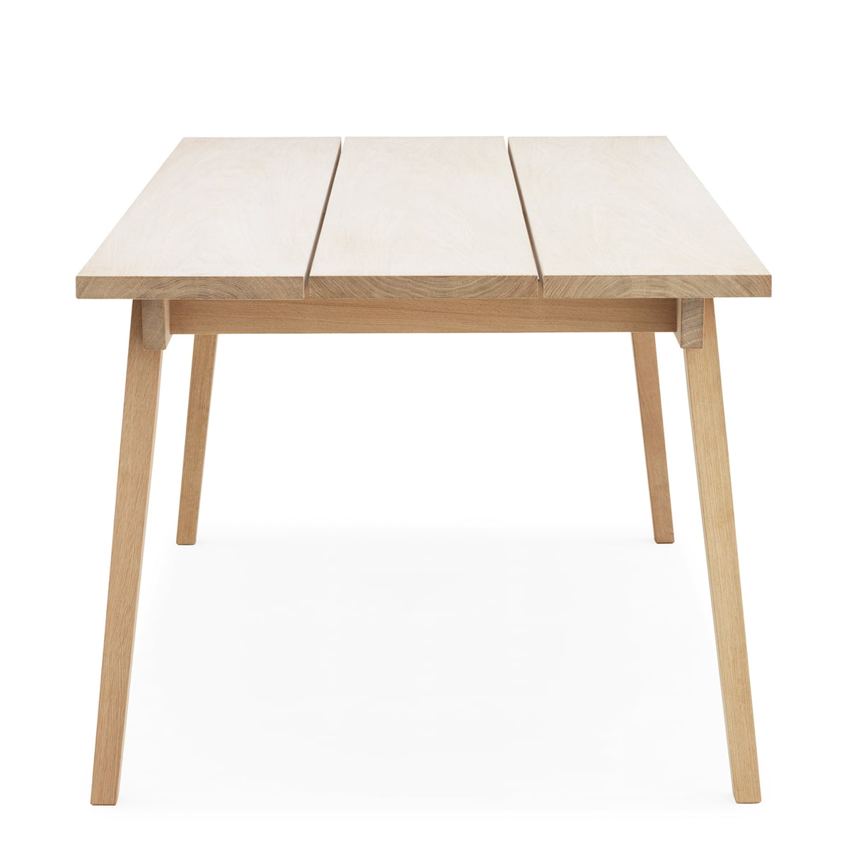Slice Table Wood By Normann Copenhagen In Oak