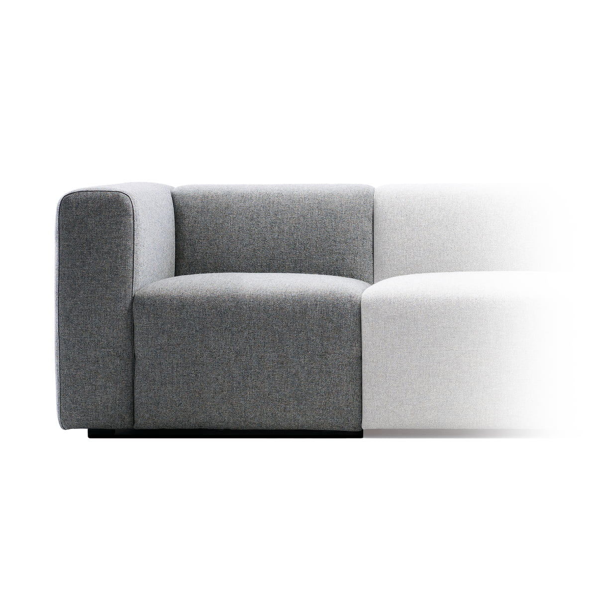mags sofa modules narrow by hay in our shop. Black Bedroom Furniture Sets. Home Design Ideas