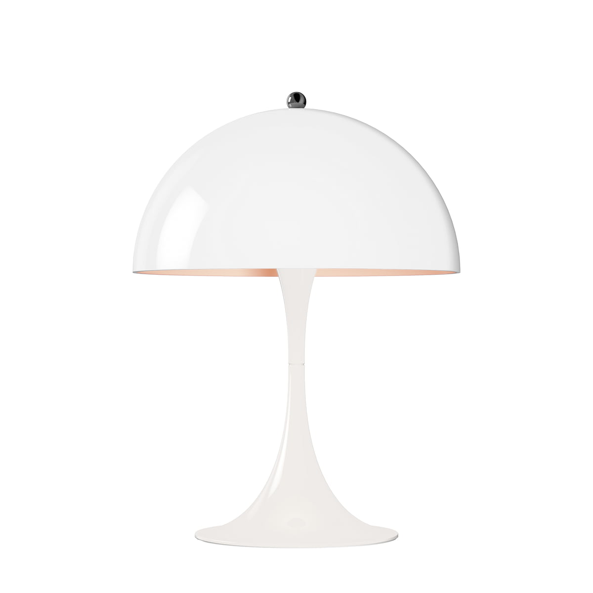 panthella mini table lamp by louis poulsen. Black Bedroom Furniture Sets. Home Design Ideas
