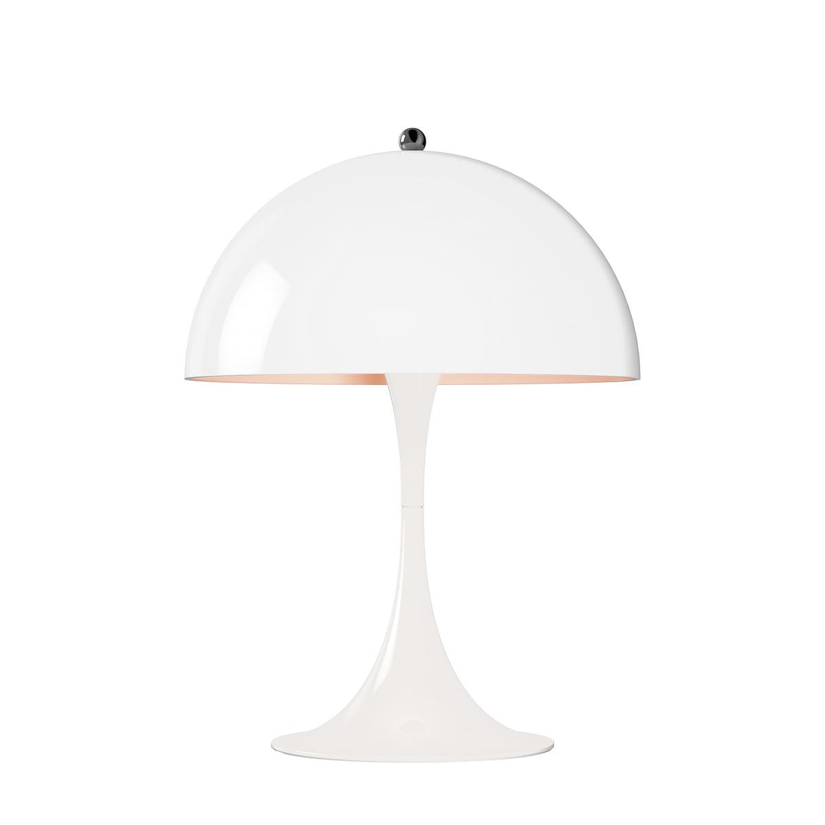 Panthella Mini Table Lamp Ø 250 Cm By Louis Poulsen In White