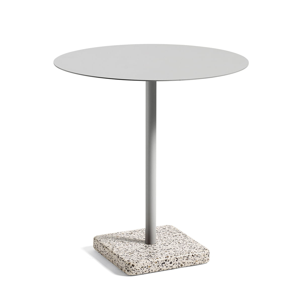 Hay Terrazzo Table Round ø 70cm Grey Red