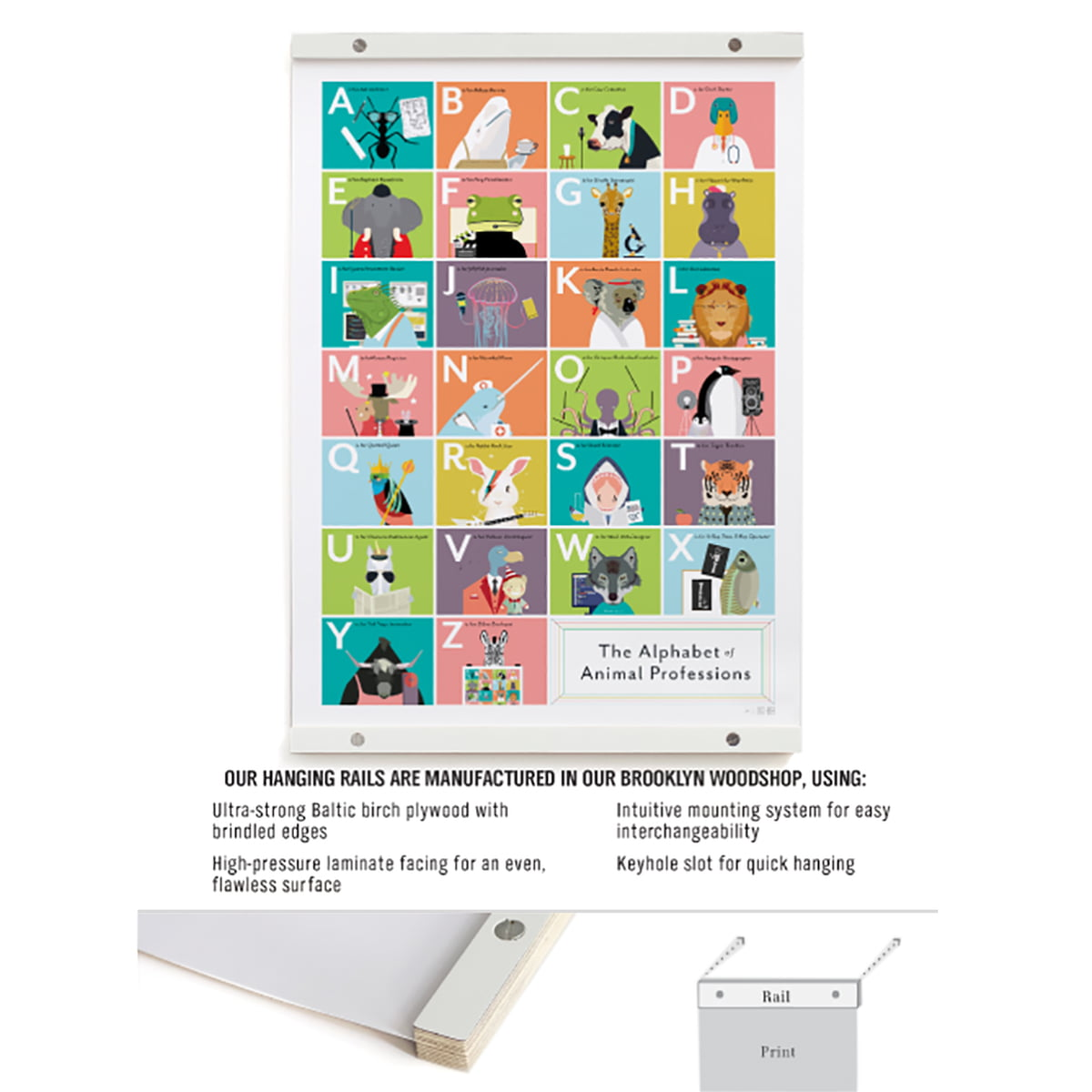 buy the poster rail by pop chart lab online