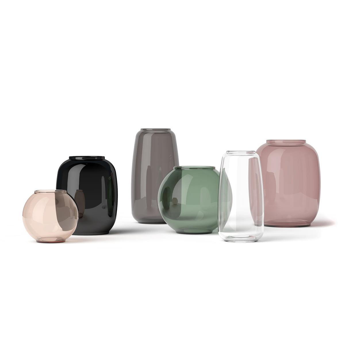 Form Vase Transparent 140 by Lyngby Porcelæn