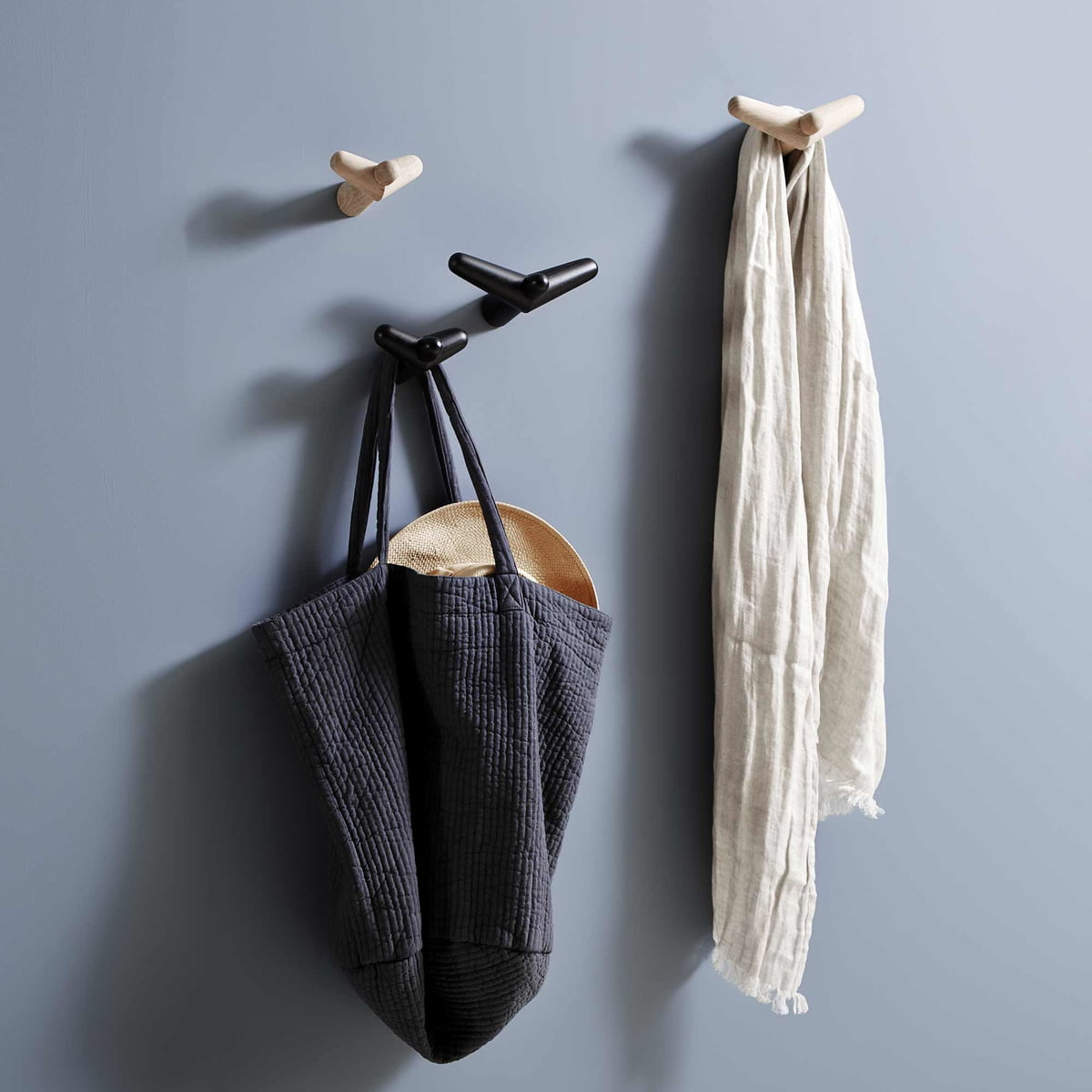 tail wing coat hook by woud in our shop. Black Bedroom Furniture Sets. Home Design Ideas