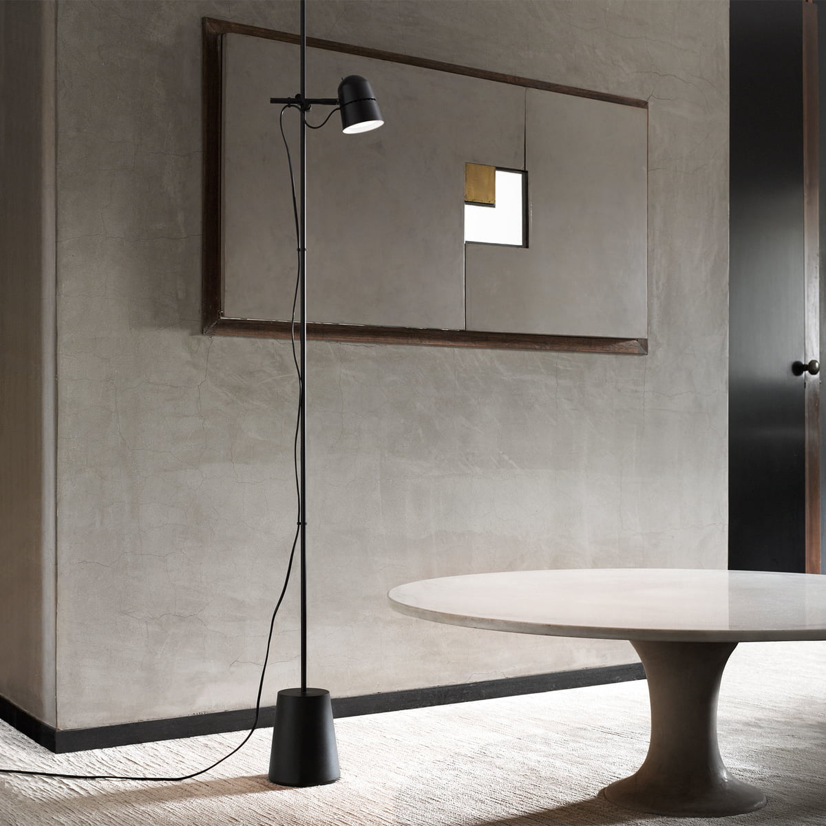 counterbalance floor lamp by luceplan. Black Bedroom Furniture Sets. Home Design Ideas