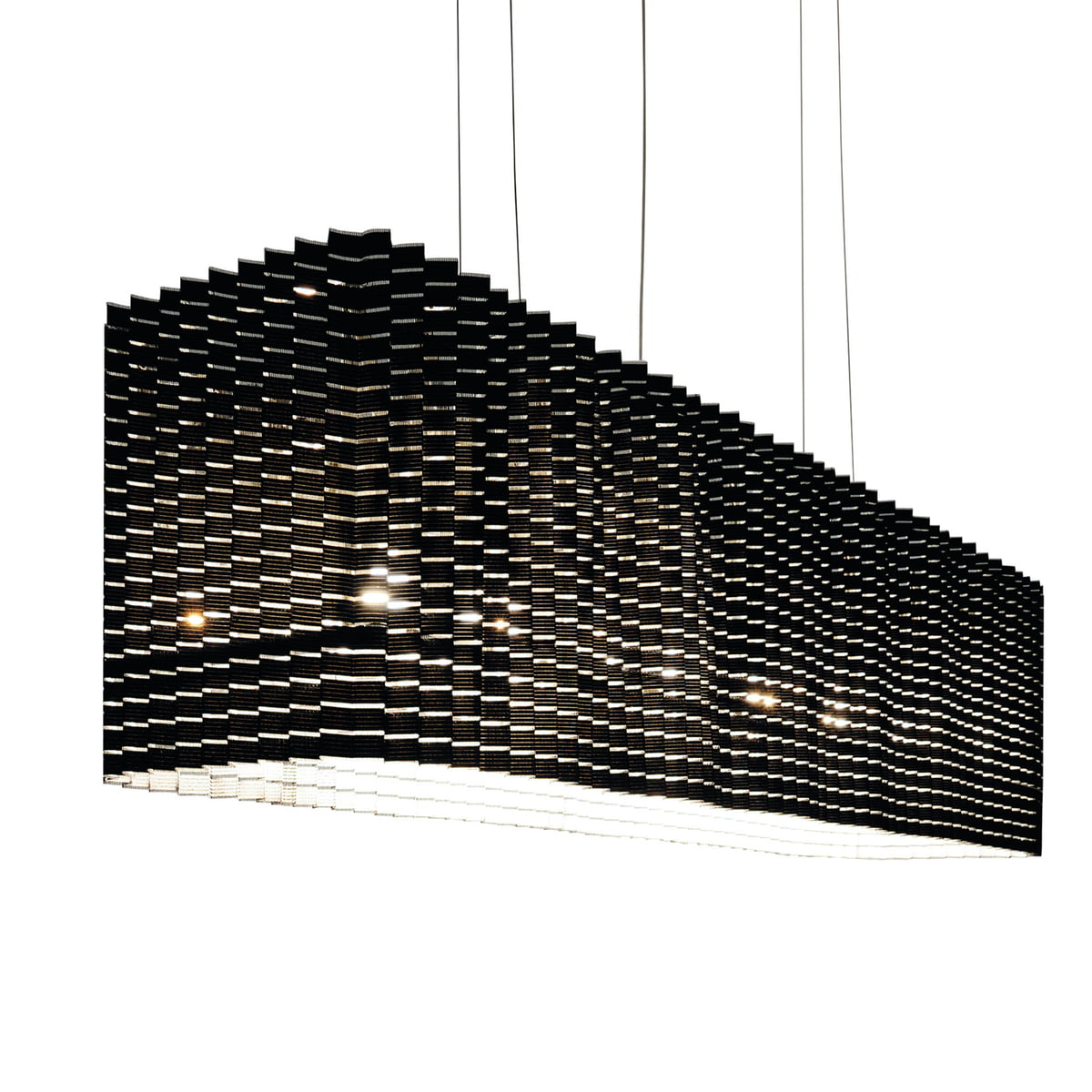 pliss pendant lamp by luceplan in the shop. Black Bedroom Furniture Sets. Home Design Ideas
