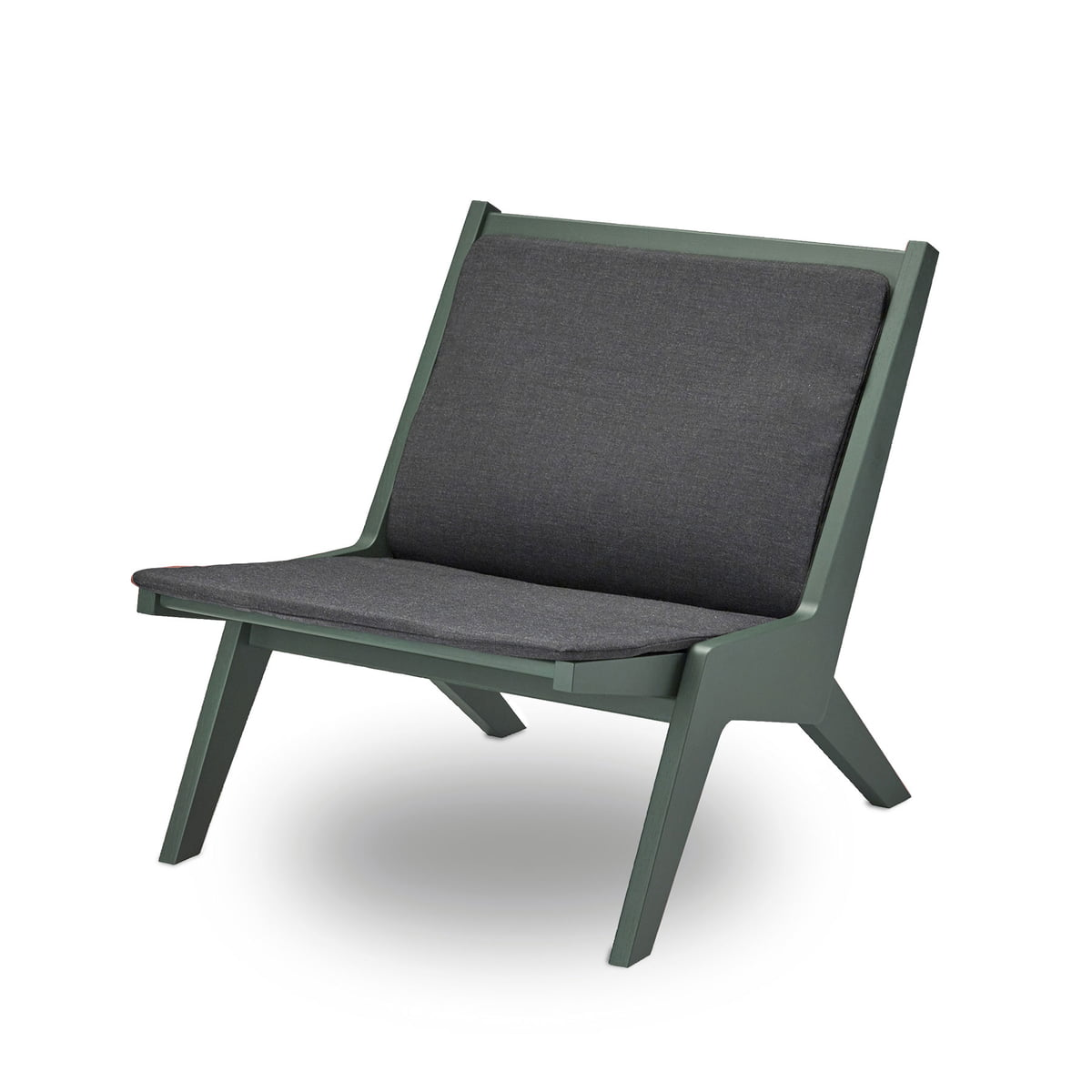 Miskito Lounge Chair By Skagerak In Hunter Green