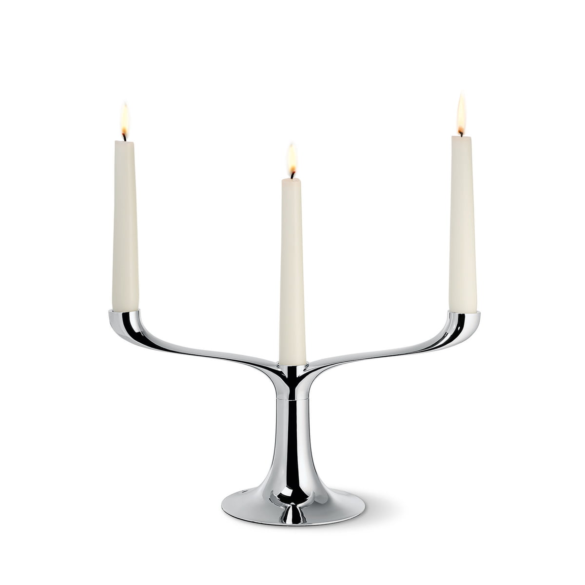 Candelabra candle holders by philippi online shop connox for Candele on line